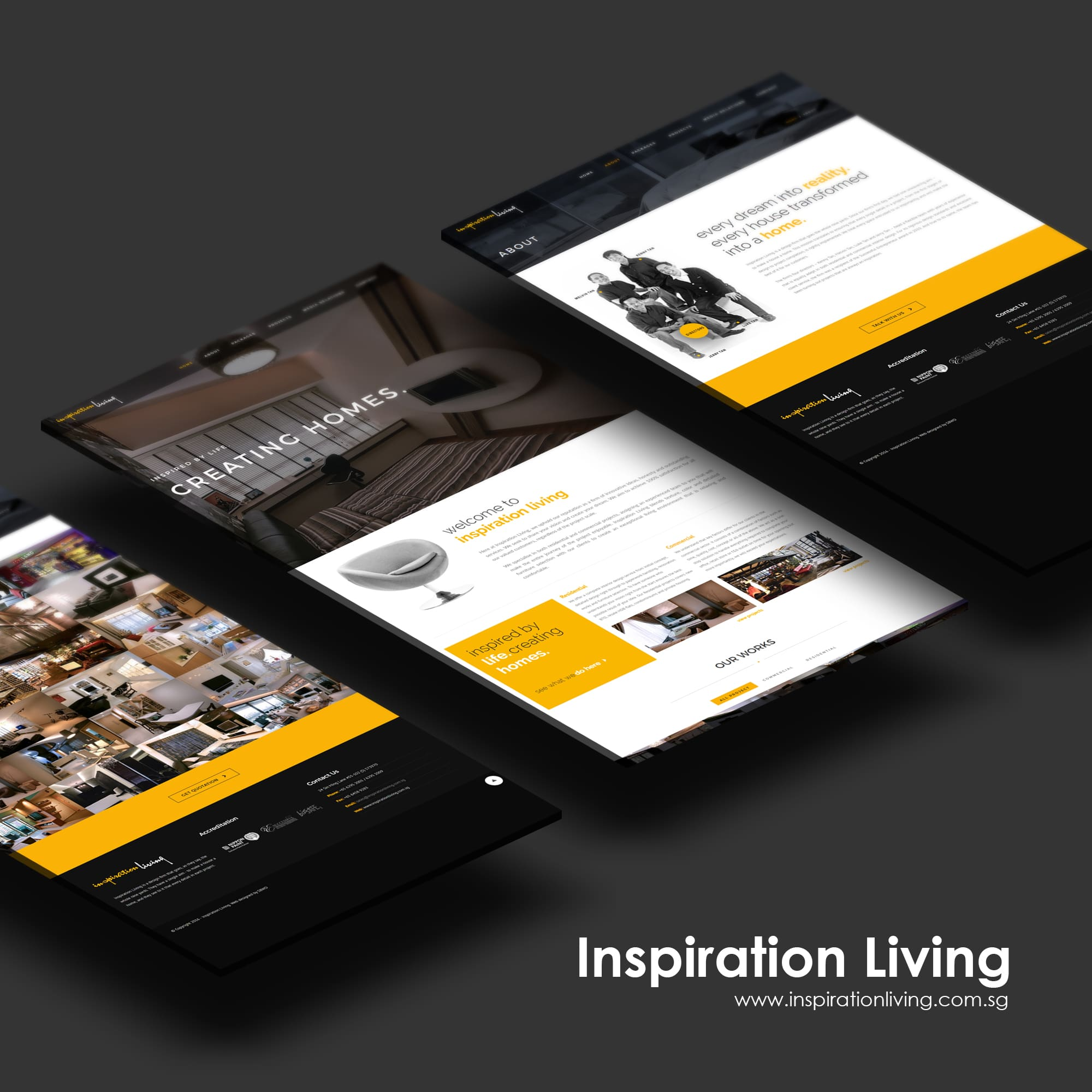 sbwd - inspiration living web concept