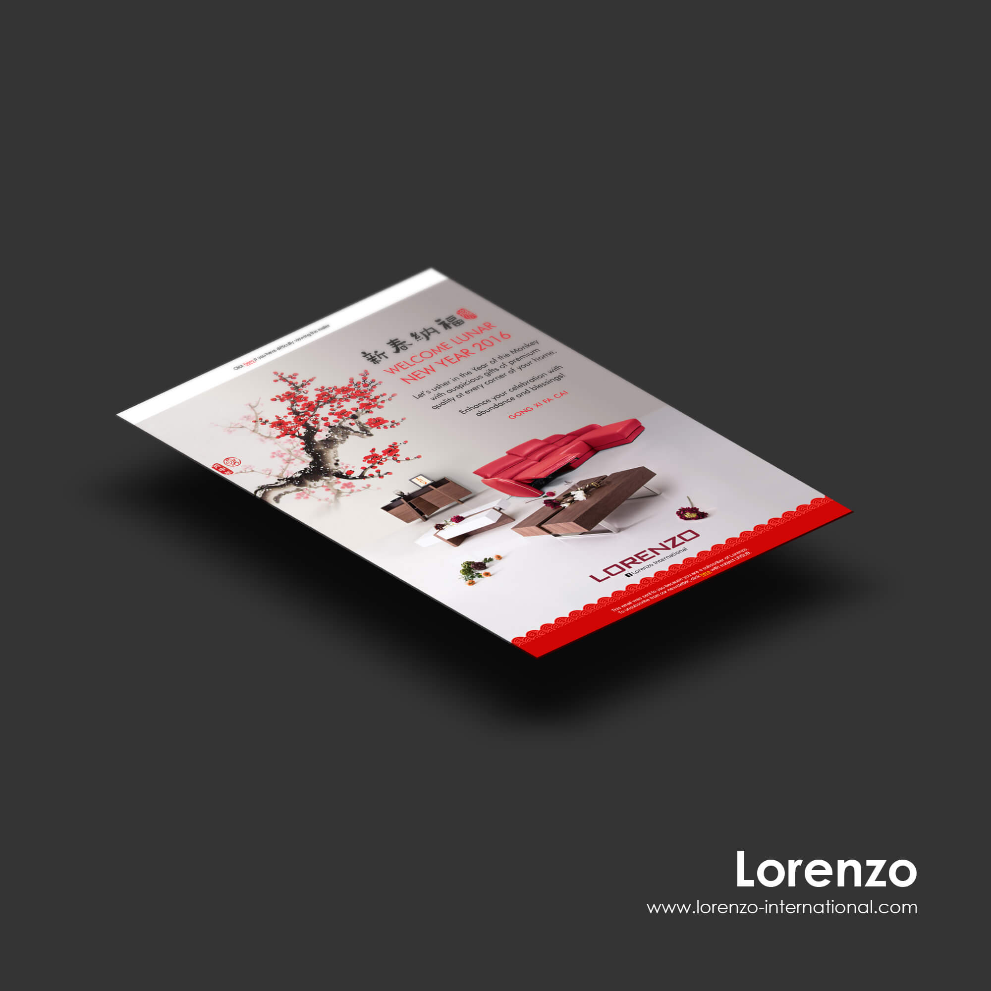 Singapore best web design lorenzo edm design