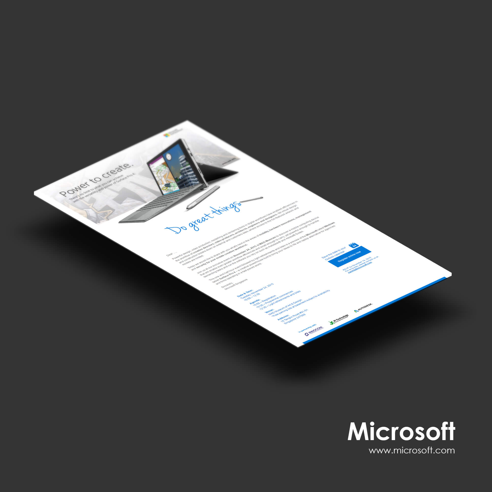 Singapore best web design microsoft edm design