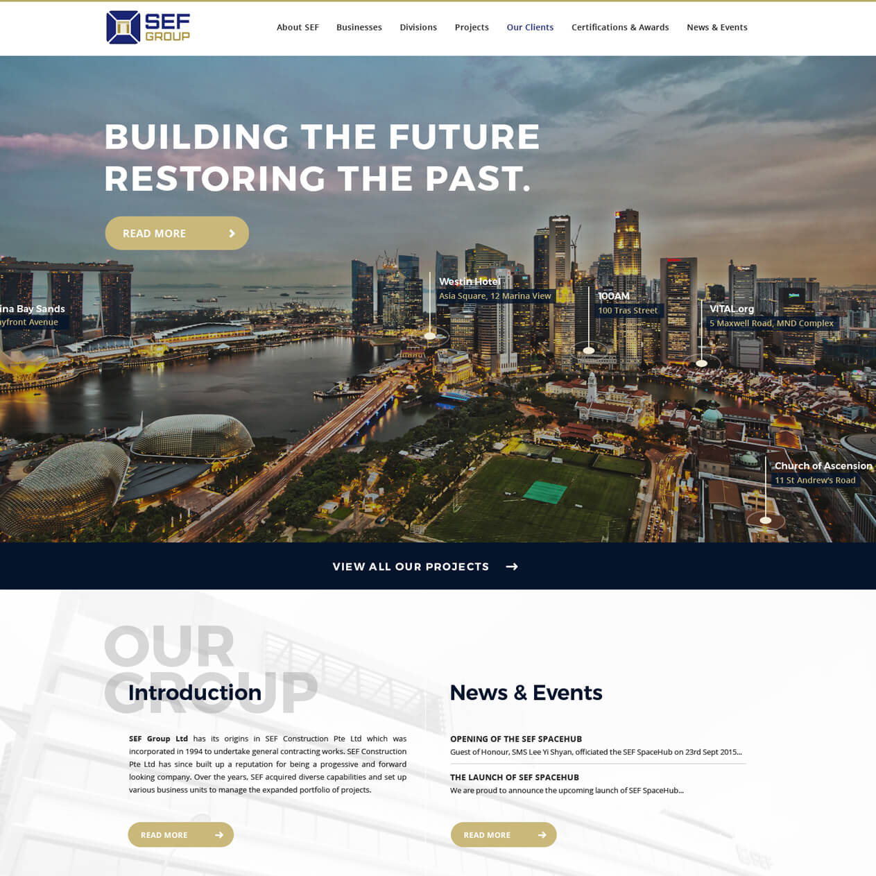 Singapore best web design sef web design